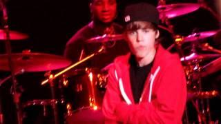 Justin Bieber au concert de Drake