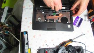 getlinkyoutube.com-Разборка нэтбука lenovo s205 для смены диска Dismantling netbook lenovo s205 for disc replacement