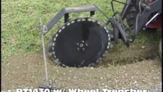getlinkyoutube.com-Power Trac PT1430 with Wheel Trencher
