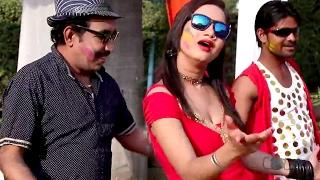 getlinkyoutube.com-चोलिये में जीजा जी - Bura Na Mano Holi Hai - Ajay Pandey - Bhojpuri Hot Holi Songs 2017 new