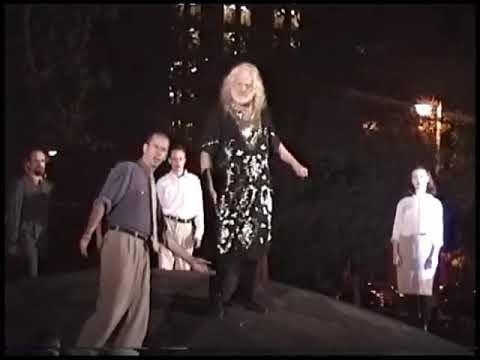 King Lear Washington Sq Park Part 1 8/11/1996