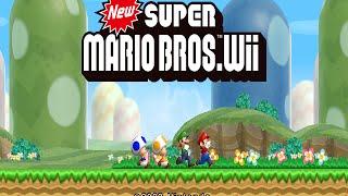 getlinkyoutube.com-Wii Longplay [021] New Super Mario Bros. Wii (Part 1 of 3)
