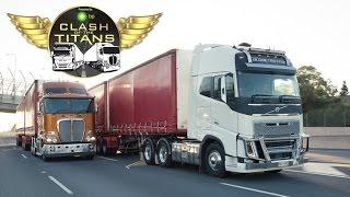 Kenworth vs Volvo Part Two   Clash of the Titans   Truck TV Australia