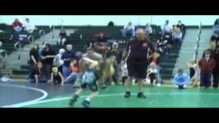 "Wrestling prodigy Stevo Poulin "" Brutal"""