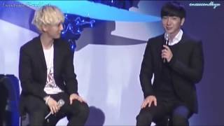getlinkyoutube.com-ENGSUB Leeteuk's re-enactment for his enlistment day & his plans
