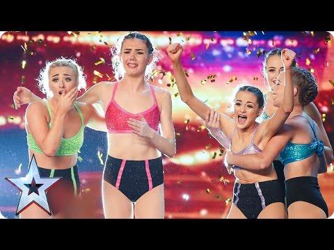 Alesha makes Just Us' dreams come true | Auditions Week 2 | Britain's Got Talent 2017
