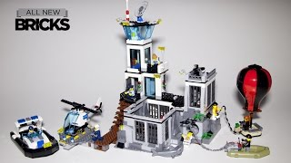 getlinkyoutube.com-Lego City 60130 Prison Island Speed Build