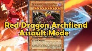 Red Dragon Archfiend Assault Mode style