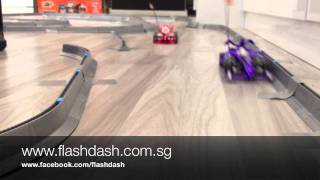 getlinkyoutube.com-Flash and Dash 2 Car Demo