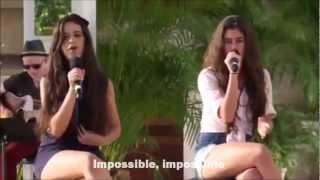 getlinkyoutube.com-Fifth Harmony - Impossible (With Lyrics)