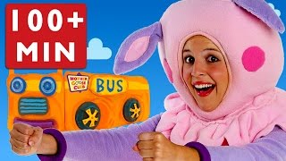 getlinkyoutube.com-Wheels on the Bus and More Nursery Rhymes by Mother Goose Club Playlist!