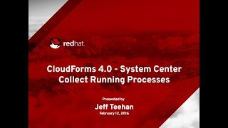 CloudForms - Collect Running Processes