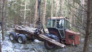 getlinkyoutube.com-Hemma byggd skogsmaskin, home made forestry machine.