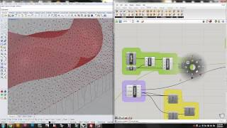 Parametric Surface with Grasshopper + Python Script