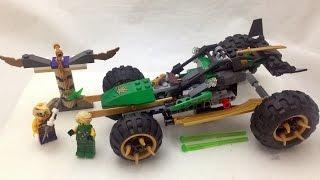 getlinkyoutube.com-레고 닌자고 로이드의 정글침입자 Lego Ninjago 70755 Jungle Raider 2015 신제품 조립과 스톱모션