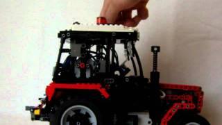 getlinkyoutube.com-LEGO Tractor Zetor 7245