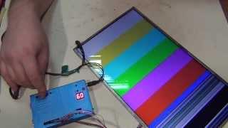 getlinkyoutube.com-Прибор для проверки LCD матриц.