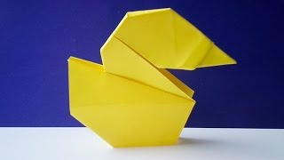 getlinkyoutube.com-оригами утка, как сделать оригами утку // origami duck