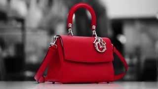 "getlinkyoutube.com-Making of Dior Mini ""BE DIOR"" Leather Bag"