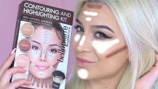 getlinkyoutube.com-Bellapierre Contouring And Highlighting Kit Demonstration + Review