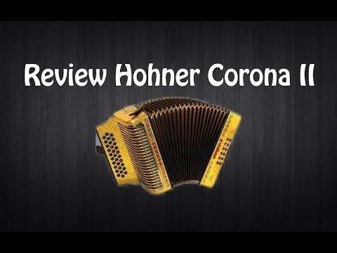 Hohner Corona II. Review Hohner Corona II. Clases de acordeón.