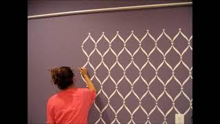 getlinkyoutube.com-Rose'sRoom: Stenciling my wall