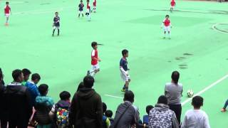 getlinkyoutube.com-20151206 - U9 康文盃決賽 - kitchee vs Arsenal 1st part