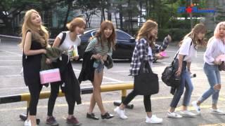 getlinkyoutube.com-KBS2 뮤직뱅크 출근길 - 소녀시대, 에이핑크, 씨스타, AOA, 구하라, 나인뮤지스, 걸스데이, 디홀릭