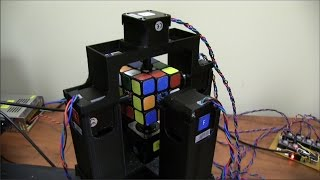 getlinkyoutube.com-World's Fastest Rubik's Cube Solving Robot - Now Official Record is 0.900 Seconds