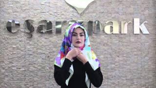 getlinkyoutube.com-Eşarppark | Aker İpek Eşarp Bağlama Tekniği