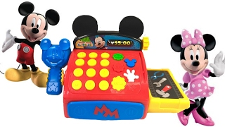 getlinkyoutube.com-Best Learning Colors Video for Children  - Mickey Mouse Clubhouse Cash Register