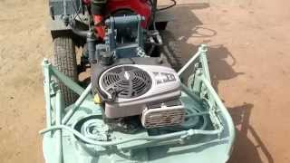 Самодельная роторная косилка с автономным двигателем.Обзор/Homemade tractor