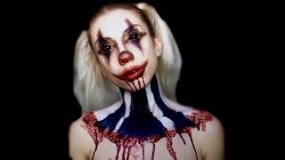 getlinkyoutube.com-Psycho Killer Clown - SFX Makeup Tutorial