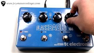 getlinkyoutube.com-TC Electronic Flashback X4 Delay