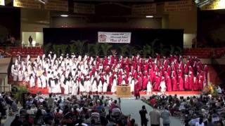 Kahuku High School Graduation Senior Medley 2015