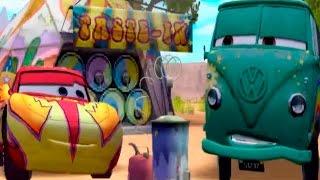 getlinkyoutube.com-CARS - Boostin' with Fillmore | Disney / Pixar | Movie Game | Walkthrough #7 | *PC GAME*