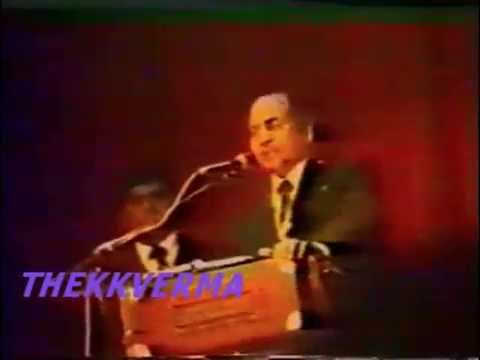 Mohammed Rafi Sahab LIVE in LONDON - Badi Door Se Aaye Hai