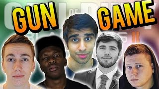 getlinkyoutube.com-CoD Black Ops Wager Match #7 with Vikkstar (Gun Game)