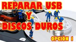 getlinkyoutube.com-REPARAR USB y DISCOS DUROS   OPCIÓN 1