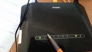 getlinkyoutube.com-اعداد  مودام  D-Link DSL-2730U router