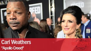 getlinkyoutube.com-Carl Weathers interviewed at the Los Angeles Movie Premiere of Creed #CREEDPremiere