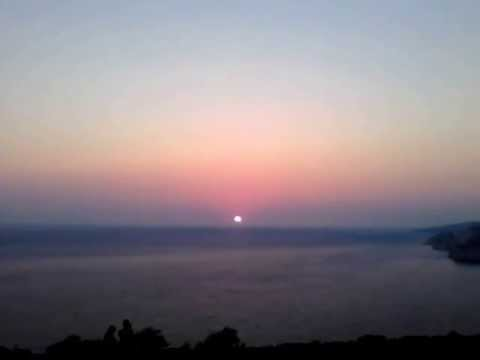 Zakynthos Sunset over the sea - Keri - 2013