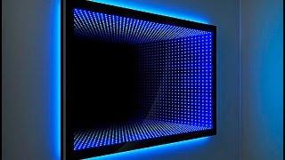 getlinkyoutube.com-Зеркало с эффектом бесконечности. Световой тоннель от компании Новая Идея. The mirror of infinity