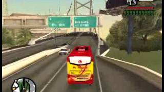 PO.Haryanto Bus Indonesia GTA San Andreas