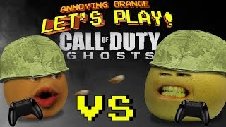 getlinkyoutube.com-Annoying Orange Let's Play! - Call of Duty Ghosts (Orange vs Grapefruit)