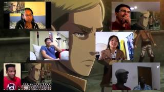 getlinkyoutube.com-進撃の巨人25話を見た外国人の反応まとめ/Attack on Titan Live Reaction