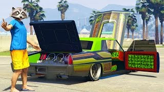 getlinkyoutube.com-LOWRIDER DLC, VAPID CHINO Full Car Customization + HYDRAULICS Gameplay, GTA 5 Funny Moments