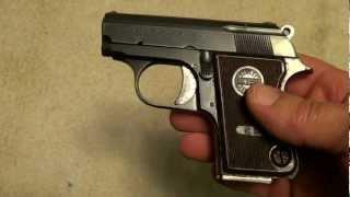 getlinkyoutube.com-Astra Cub .22 Short semi-auto pistol