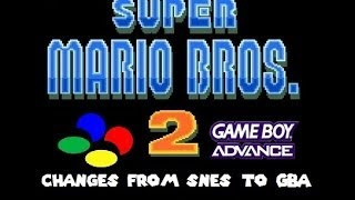 getlinkyoutube.com-Super Mario Bros 2: Changes from SNES to GBA