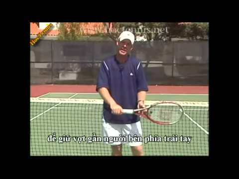 Học Tennis - Các cách cầm vợt tennis cơ bản